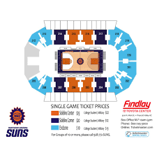 2018 Acc Tournament Seating Chart By School Events Naz Suns Vs Agua Caliente Clippers 1 Findlay
