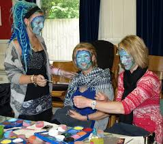 follies run regular face painting training courses in london and in kent and can run face painting training at a location of your choice at work college