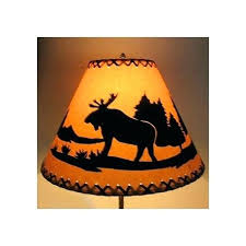 rustic lamp shade moose rustic lamp shade rustic lamp shades chandeliers