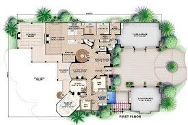 mediterranean house plans. Mediterranean Style House Plan - 6 Beds 7.50 Baths 11672 Sq/Ft #27 Plans T