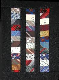 Using Men's Ties in quilts and creative project & Chinese Coins Quilt Adamdwight.com