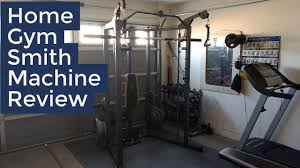 Marcy Combo Smith Machine Home Gym Review Demo
