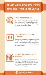 Press Release Templet 9 Best Writing A Press Release Images Internet Marketing