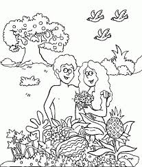 Adam And Eve Coloring Page Awesome Adam And Eve Coloring Pages