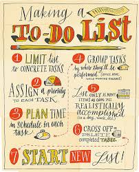 List To Do Conquering The To Do List Wsj