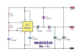 simple doubler voltage 12 to 24 vdc schematic diagram wiring simple doubler voltage 12 to 24 vdc schematic diagram wiring diagram show