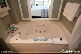the bathtub in a deluxe room at shutters on the beach los angeles ca