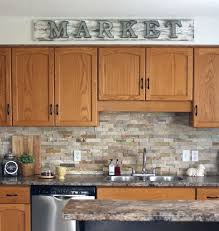 Small Picture Best 20 Oak cabinet kitchen ideas on Pinterest Oak cabinet