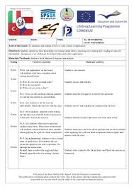 letter of application english language lesson plan