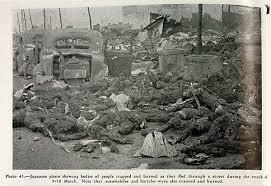 「tokyo Air raids 1945 dead people」の画像検索結果