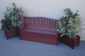wakefield bench with storage box