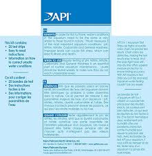 Api 5 In 1 Test Strips Freshwater And Saltwater Aquarium Test Strips 25 Count Box