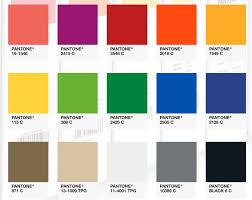 Pantone Matching System Standardizes Colors For Fiberforce