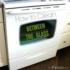 oven door glass how to clean between glass oven oven door glass cleaning tips