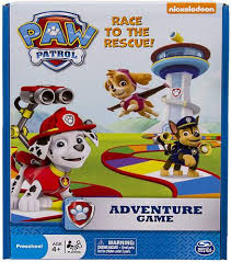 <b>Spin Master Nickelodeon Paw</b> Patrol Adventure Board Game ...