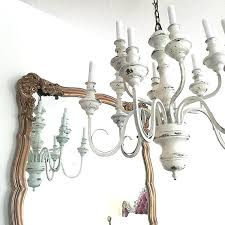 white chandeliers chandelier inspiring rustic white chandelier large rustic chandeliers white chandeliers with candle and mirror