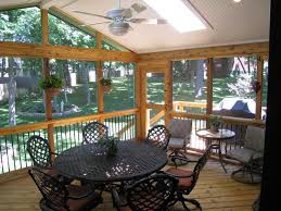 ... Top Notch Images Of Screened Porch As Home Exterior Design And  Decoration : Minimalist Outdoor Living ...