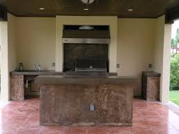Small Picture Custom Kitchen Summer Kitchens Red Tile Wooden Table Summer