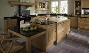 Eco Friendly Kitchen Cabinets Traditional Eco Friendly Kitchen With Teak Wood Storage Set And