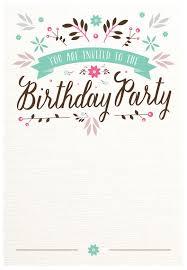 free birthday party invitation templates flat fl free printable birthday invitation template