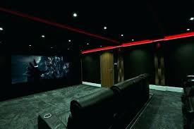 dark media room. Media Room Lights Lighting Dark Black With Red Neon . N