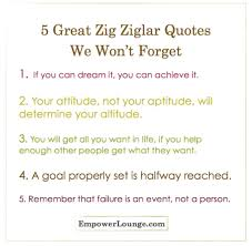 Zig Ziglar Quotes Cool 48 Zig Ziglar Quotes We Won't Forget Empower Lounge