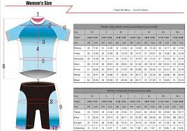 Paladin Cycling Jersey Size Chart Short Sleeve Cycling Jersey Printed With Lily Flower For