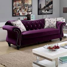 chesterfield furniture history. Furniture Of America Dessie Traditional Tufted Sofa Chesterfield History