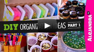 Diy Organization Video Diy Organization Ideas Part 1