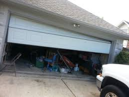 what causes garage door accidents