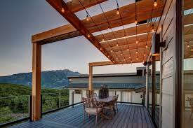 roof lighting design. roof terrace lighting design n