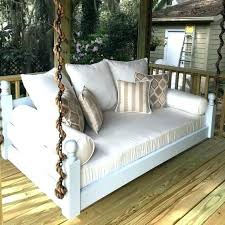 round porch swing bed like this item for diy hanging outdoor porch swing bed hanging twin patio diy daybed