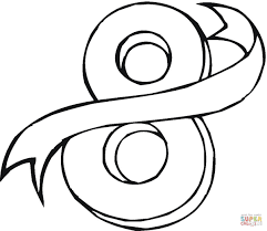 Small Picture Number 8 coloring page Free Printable Coloring Pages