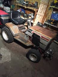 vintage sears craftsman gt18 garden tractor for in west springfield ma offerup