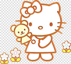 Twin hello kitty coloring paged5bf. Hello Kitty Head Coloring Book Drawing Hello Kitty Online Cartoon Architecture Doodle Page Transparent Background Png Clipart Hiclipart