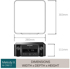 Marantz MCR412 HiFi Amplifier Bluetooth Receiver with CD-Player FM &  DAB/DAB+ Radio Subwoofer Output USB Port Music Streaming Black 2 Optical TV-inputs  Electronics & Photo ecog Hi-Fi & Home Audio
