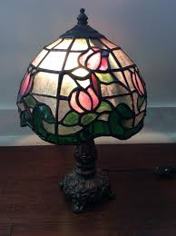 Handmade Artisan Stain Glass Lamp