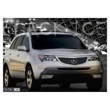 e g classics 2007 2009 acura mdx grille heavy mesh black ice grille upper only 1406 b104 07