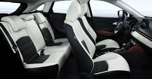 2018 mazda cx 3 front and back seats