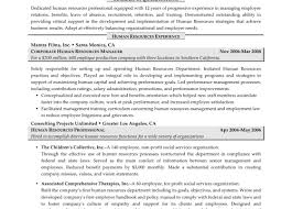 Human Resources Manager Resumes Human Resource Manager Resume Hr