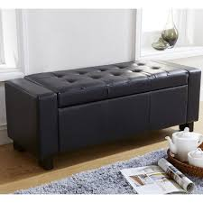 verona faux leather ottoman – next day delivery verona faux