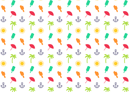 Summer Pattern Magnificent Summer Pattern Free Vector Art 48 Free Downloads
