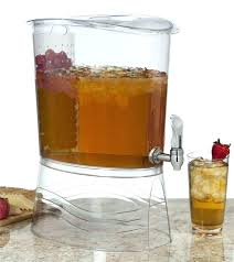 plastic beverage dispenser with spigot 3 gallon glass spout replacement