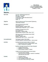 16 Year Old Resume Download Year Old Resume 16 Year Old Work Resume