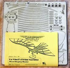 da vinci s flying machine model kit