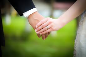 hand wedding ring. engagement and wedding rings: matching, upgrades decision-making hand ring