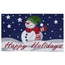 Multi - Christmas Rugs & Doormats - Indoor Christmas Decorations ...