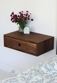 diy floating bedside table floating nightstand with drawer mid century modern bedside table floating bedside table diy floating bedside table