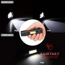 Đèn pin siêu sáng mini bin sạc điện usb bóng led xpe cob có zoom chống nước  cầm tay chuyên dụng giá cạnh tranh