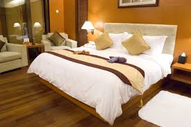 Bedroom Decorating Awesome Nice Design Bedroom Decorating That Has Warm Floor Lamp On